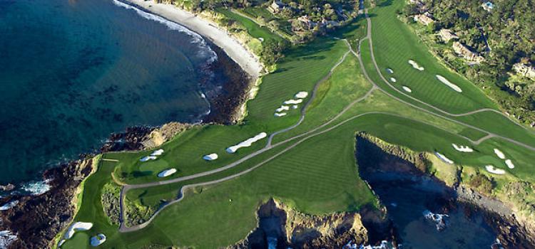 Idealne pola golfowe: Pebble Beach Golf Links
