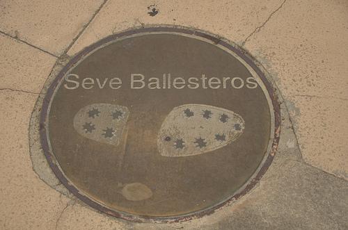 Odcisk stopy Ballesterosa / Autor: Ben Sutherland